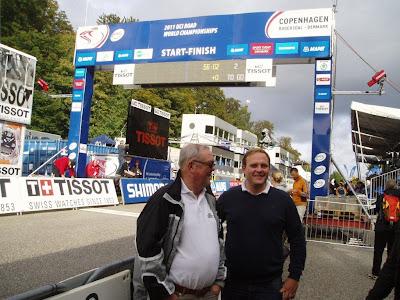Björn Gevaert en Paul Deroo op WK wielrennen in Kopenhagen