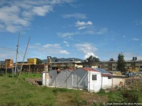Construcción en el predio, Humedal de Córdoba