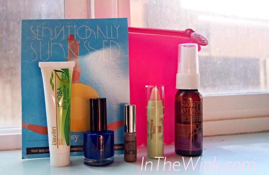 Beauty Box: Ipsy July 2014