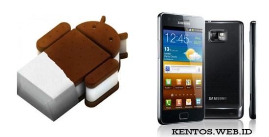 Update Ice Cream Sandwich (ICS) Tersedia Untuk Samsung Galaxy S II
