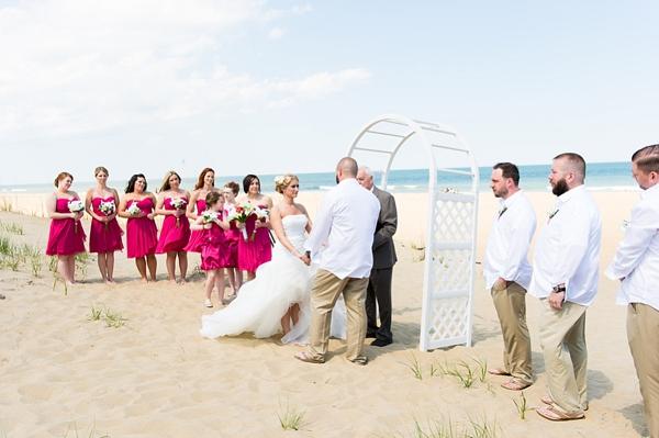 Colorful Virginia Beach Wedding By Elizabeth Henson Photos