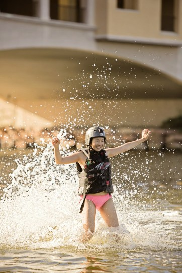 What is there to do in Las Vegas? Flyboarding!