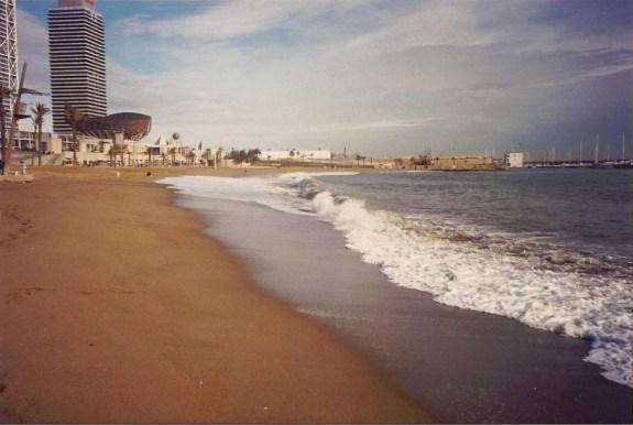 Barcelona. Pez Dorado