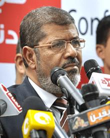 Egypt's Mohamed Morsi