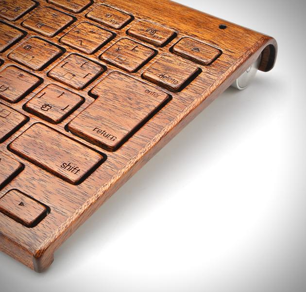 *指尖上滑順的觸感:Lazerwood 木質鍵盤! 2