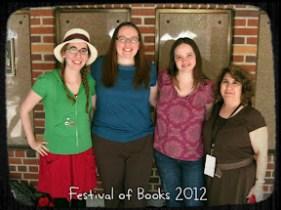 book bloggers at LATFoB