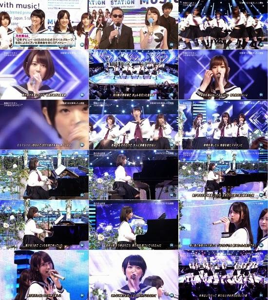(TV-Music)(1080i) 乃木坂46 Part – Music Station 150123