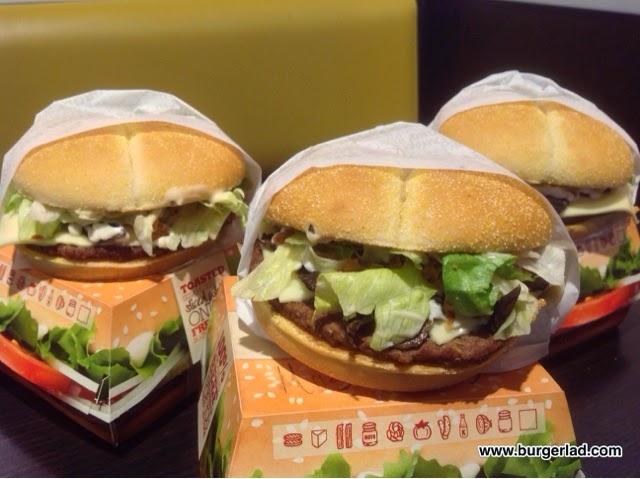 Burger King Mushroom Swiss