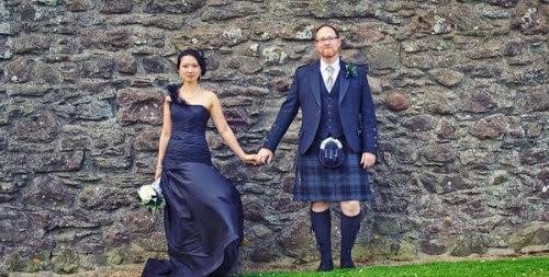 свадьба в Замке Данноттар