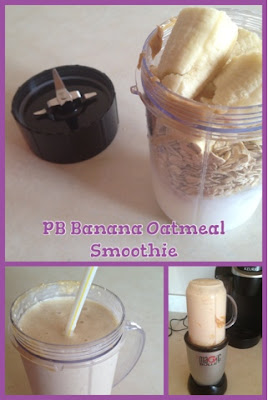 Back to School Recipe: Peanut Butter Banana Oatmeal Smoothie