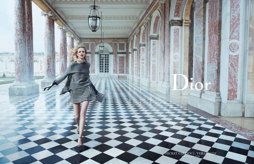 *Dior的秘密花園 Dior Secret Garden:凡爾賽精靈搖晃著鞦韆! 1
