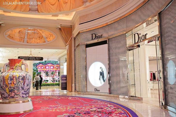 Show Me Your Neighborhood - Dior at the Wynn.