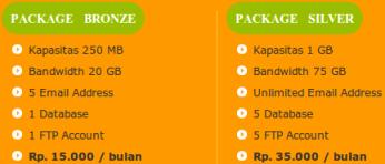 Paket web hosting murah di indonesia dari anekahosting.com
