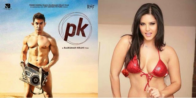 Top 10 Aamir Khan funny meme went viral from Movie PK (Peekay 2014) !!!  Whatsapp bollywood funny pic !!! Aamir now competing with Sunny Leone and Poonam Panday !!