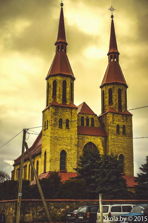 Костел Святой Троицы 1913. г. Зельва