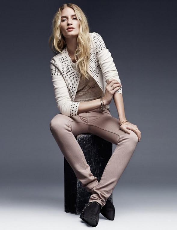#鉚釘的溫柔氣質: Linda Vojtová 經典呈現 H&M 2013 Fall Lookbook! 7