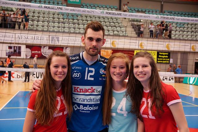 Silja Defrancq, Ruben Van Hirtum, Fran Vandevoorde en Elien Verbrugghe