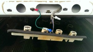 Anyone know how to remove the cargo lamp switch | GMT400  The Ultimate 8898 GM Truck Forum