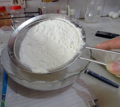 Make your own Cake-flour