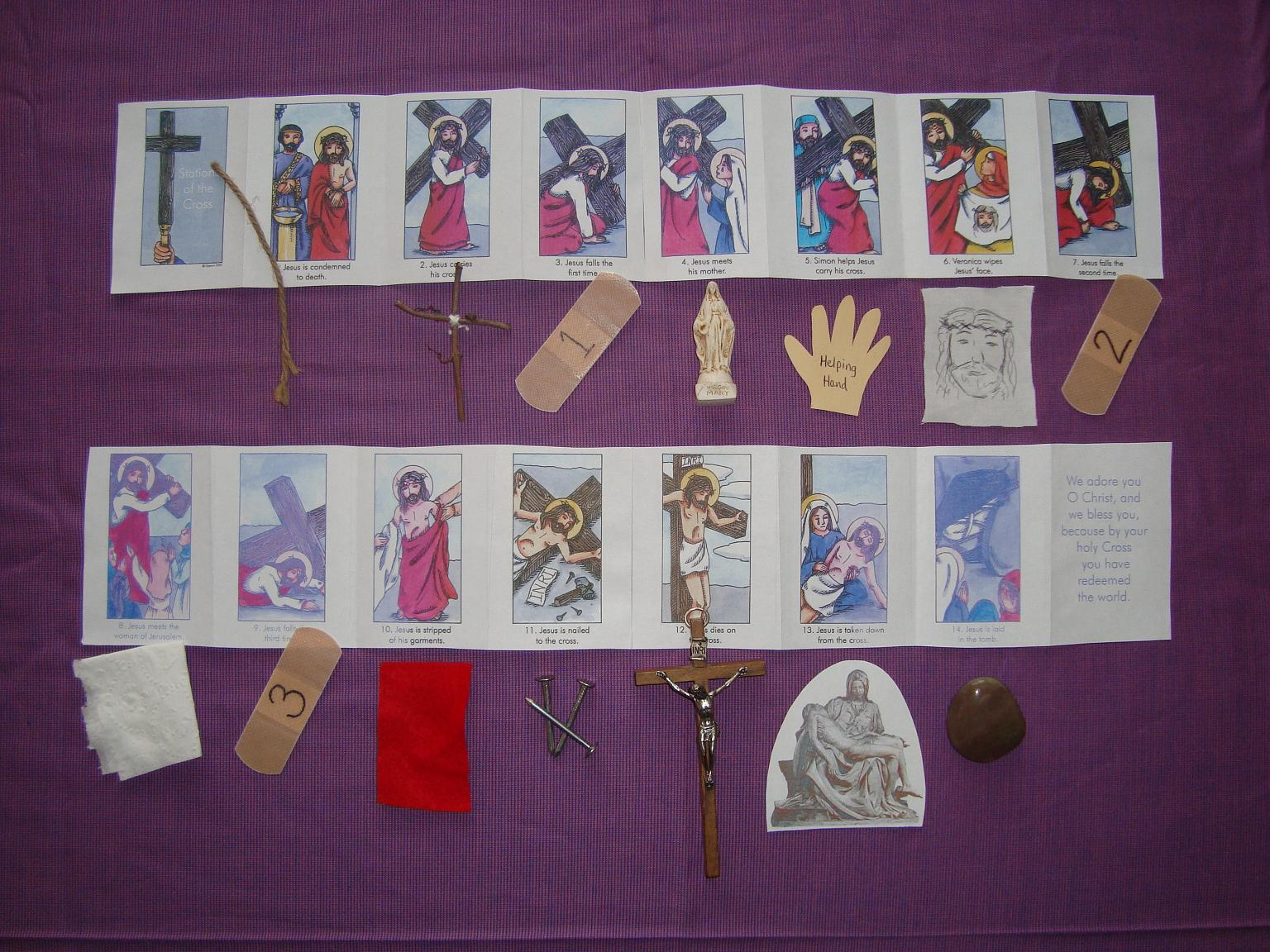 Lenten Ideas For Kids And A Linky