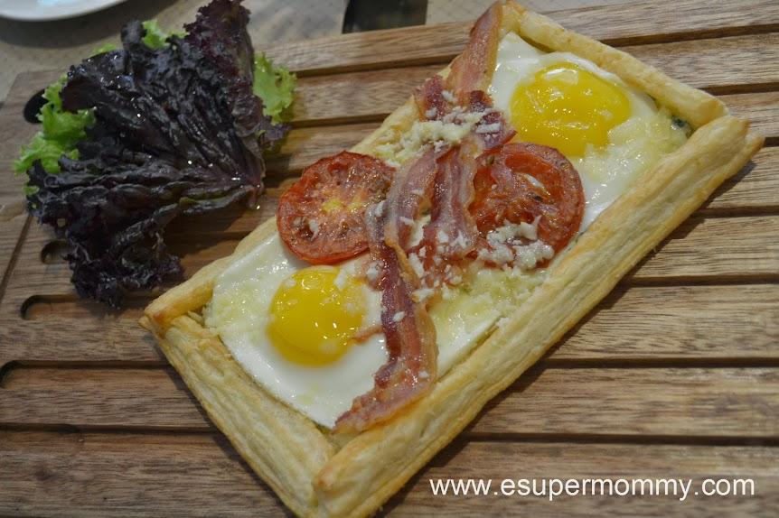 Breakfast Tart at Harina Artisan Bakery and Cafe