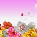 Papel De Parede Wallpapers Fundos Amor Flower Power Wallpaper Rose