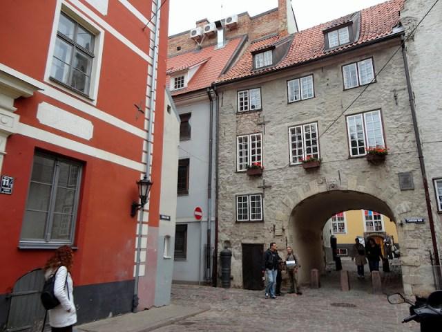 Qué ver en Riga. Puerta Sueca, Riga