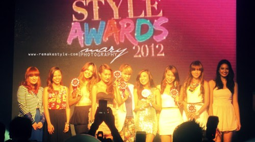 Candy Style Awards 2012 - Rockwell Tent, Makati City - May 4, 2012 - Candy Style Star Awardee