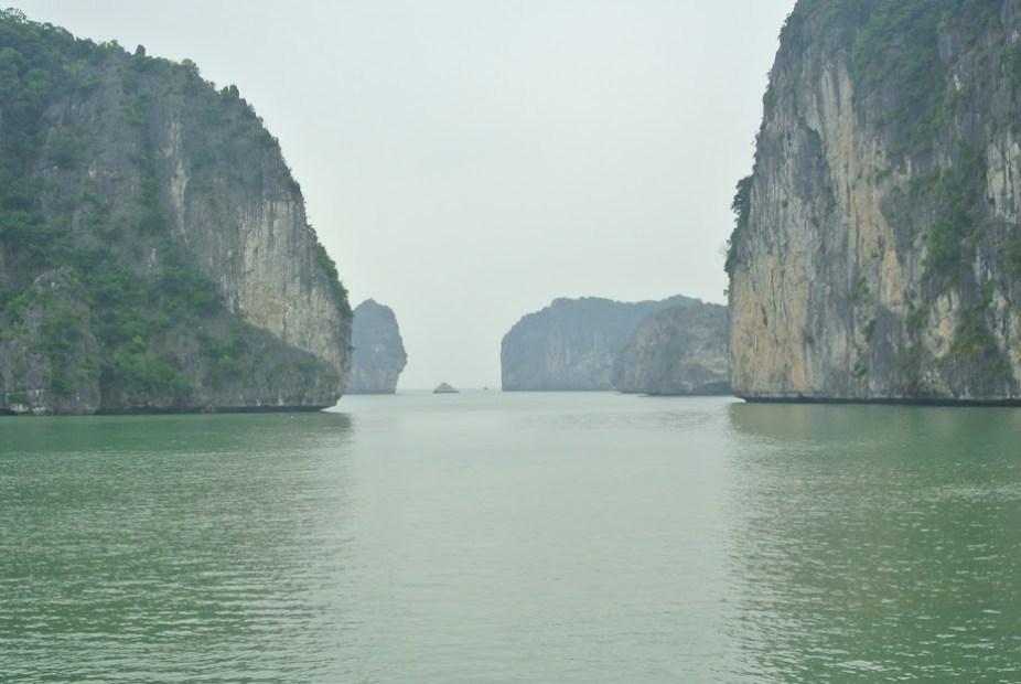 viaje en barco por Halon bay