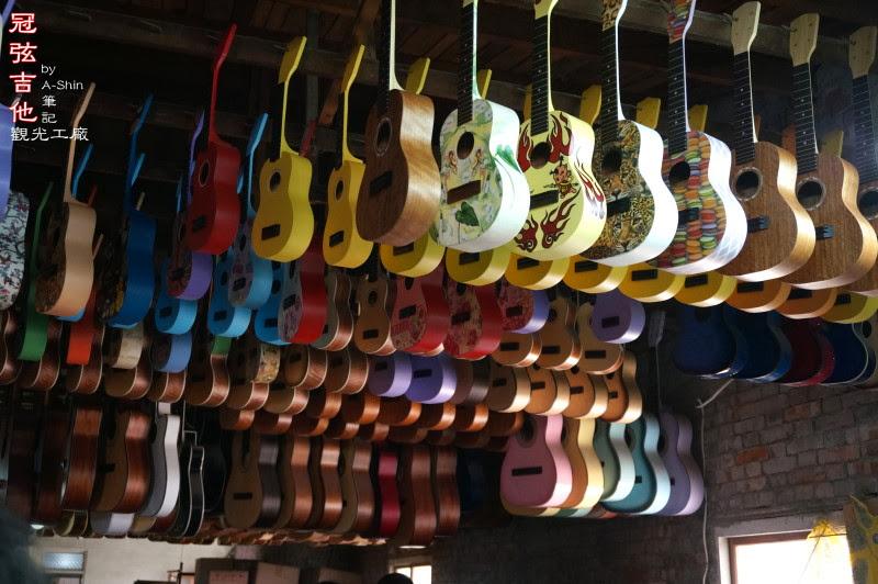 冠弦手工吉他觀光工廠
