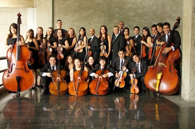 Orquesta barroca Juvenil Simón Bolívar