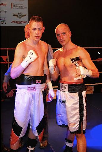 Kobe Vandekerkhove en Cedric Spera