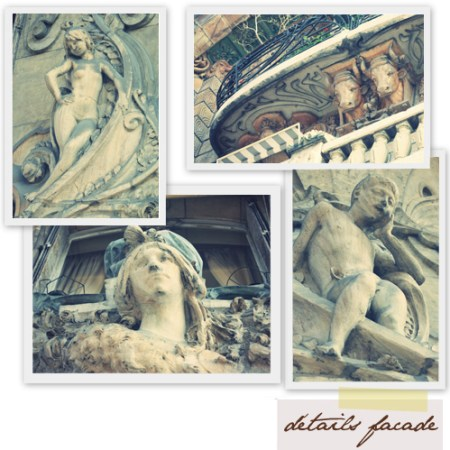 Façade Art Nouveau Avenue 29 Rapp Paris