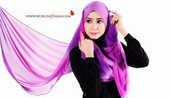 tudung shawl terkini