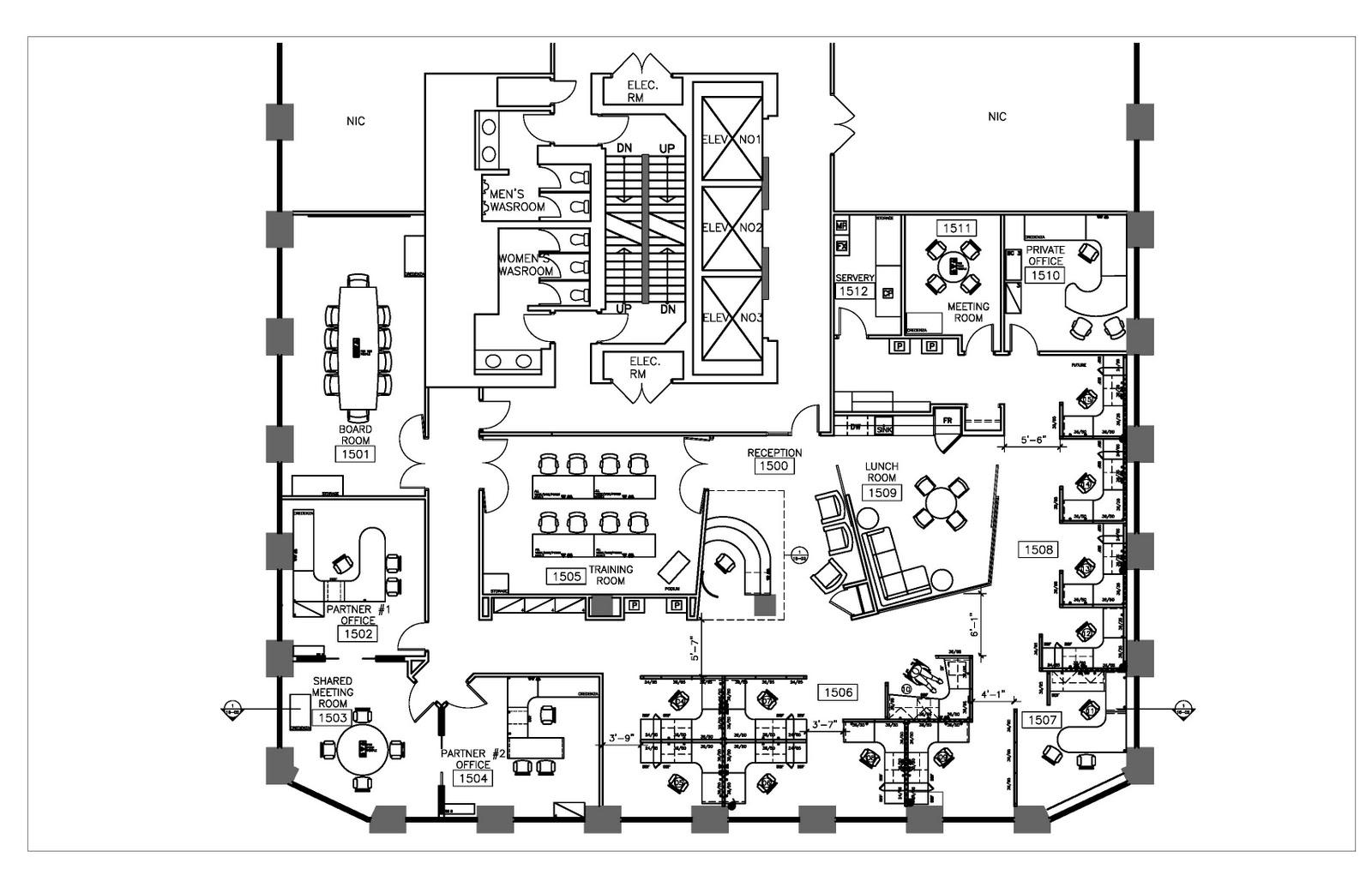 Office Furniture Floor Plans Woodworking