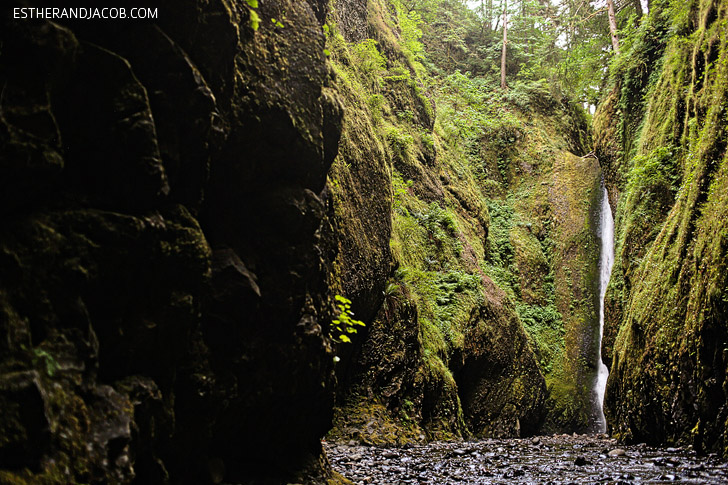Oneonta Gorge OR | Hiking Portland Oregon.