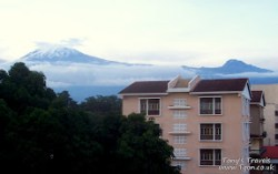 View of the moutain from my window