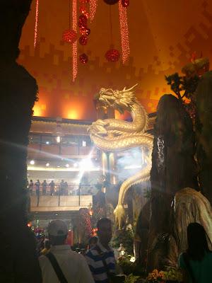 Dragon in Sunway Pyramid