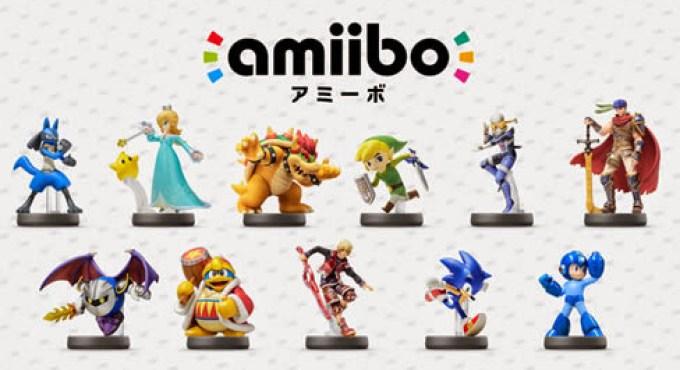 Nintendo presenta once nuevos amiibo para principios de 2015