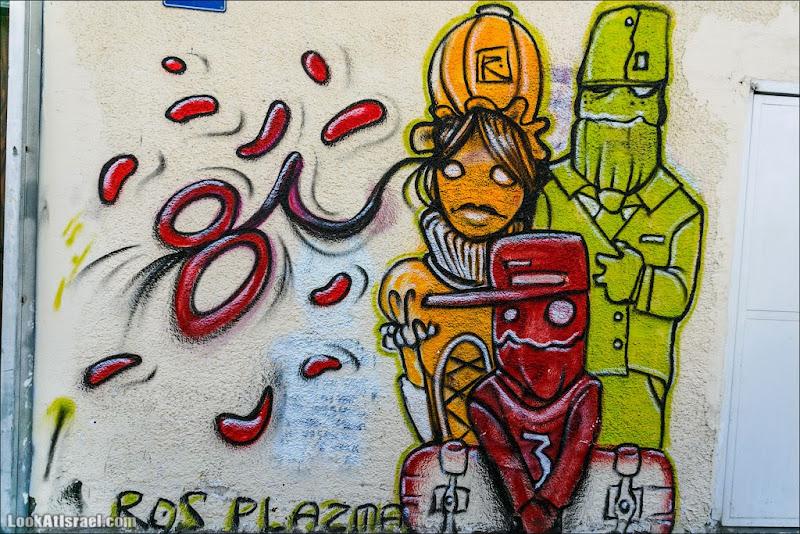 Тель Авивские граффити квартала Флорентин