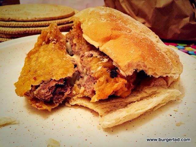 Dundee Deep Fried Cheeseburger