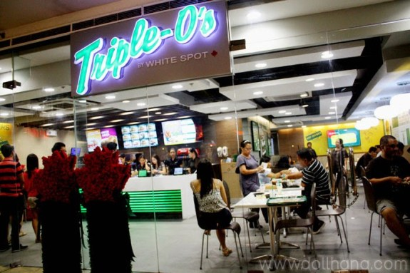 Canada canadian burger triple o's philippines sm megamall mandaluyong
