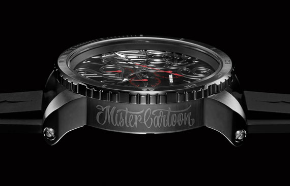 *LA 刺青大師驚艷之作:「Mr. CARTOON x DIESEL聯名」限量腕錶 3