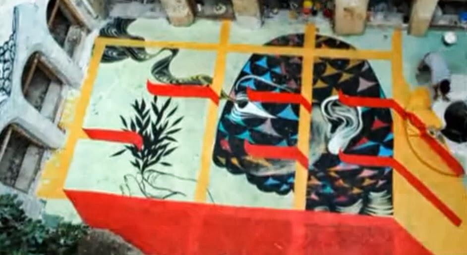 #動態塗鴉:David Ellis & Blu 合作創造令人驚喜的藝術影片  ! 1