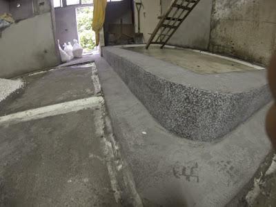 【磨石子·地板】磨石子地板施工 – TouPeenSeen部落格