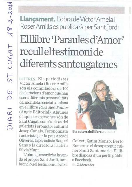 Paraules d'Amor té més premis!!!