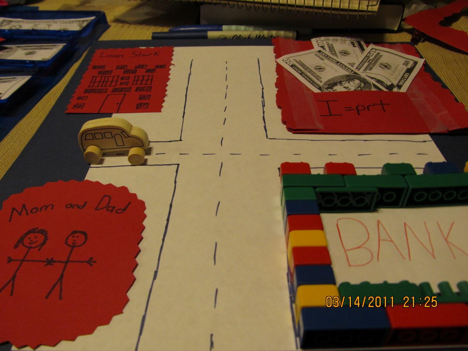 Hands On Math Teaching Simple Interest Choosing The Best