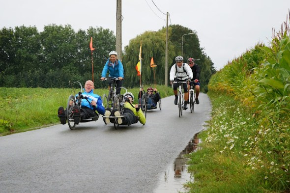 ligfietsen tijdens West-Vlaanderens Mooiste