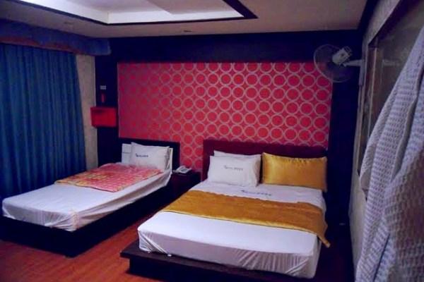 motel room korea jeonju
