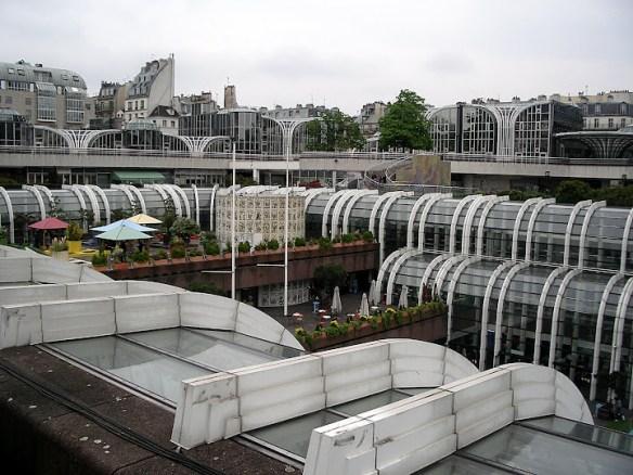 Qué ver en París en un fin de semana; halles de París